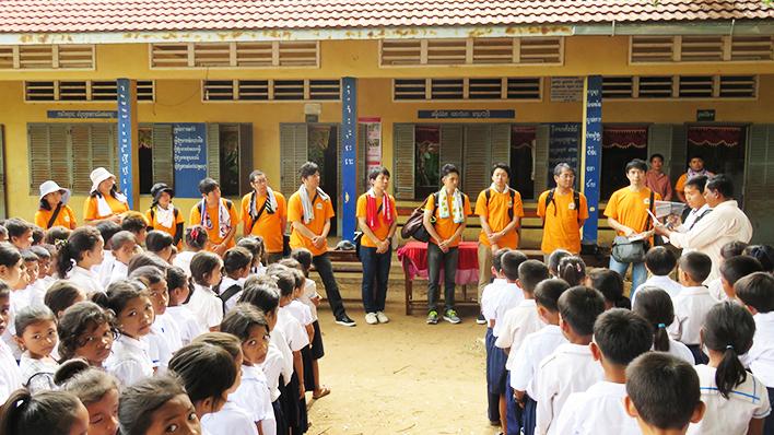 カンボジアヤヨイ学校 活動報告02