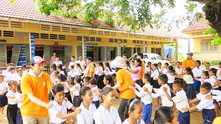 カンボジアヤヨイ学校 活動報告03