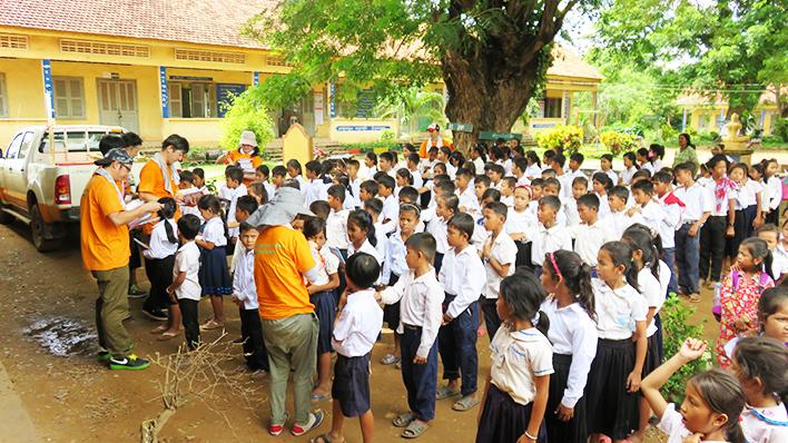 カンボジアヤヨイ学校 活動報告09