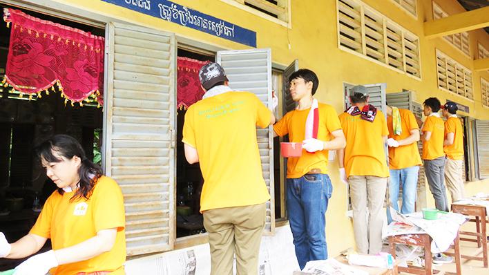 カンボジアヤヨイ学校 活動報告11