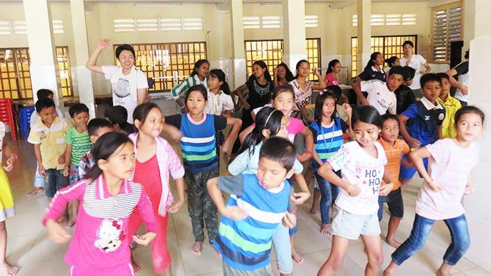 カンボジアヤヨイ学校 活動報告14