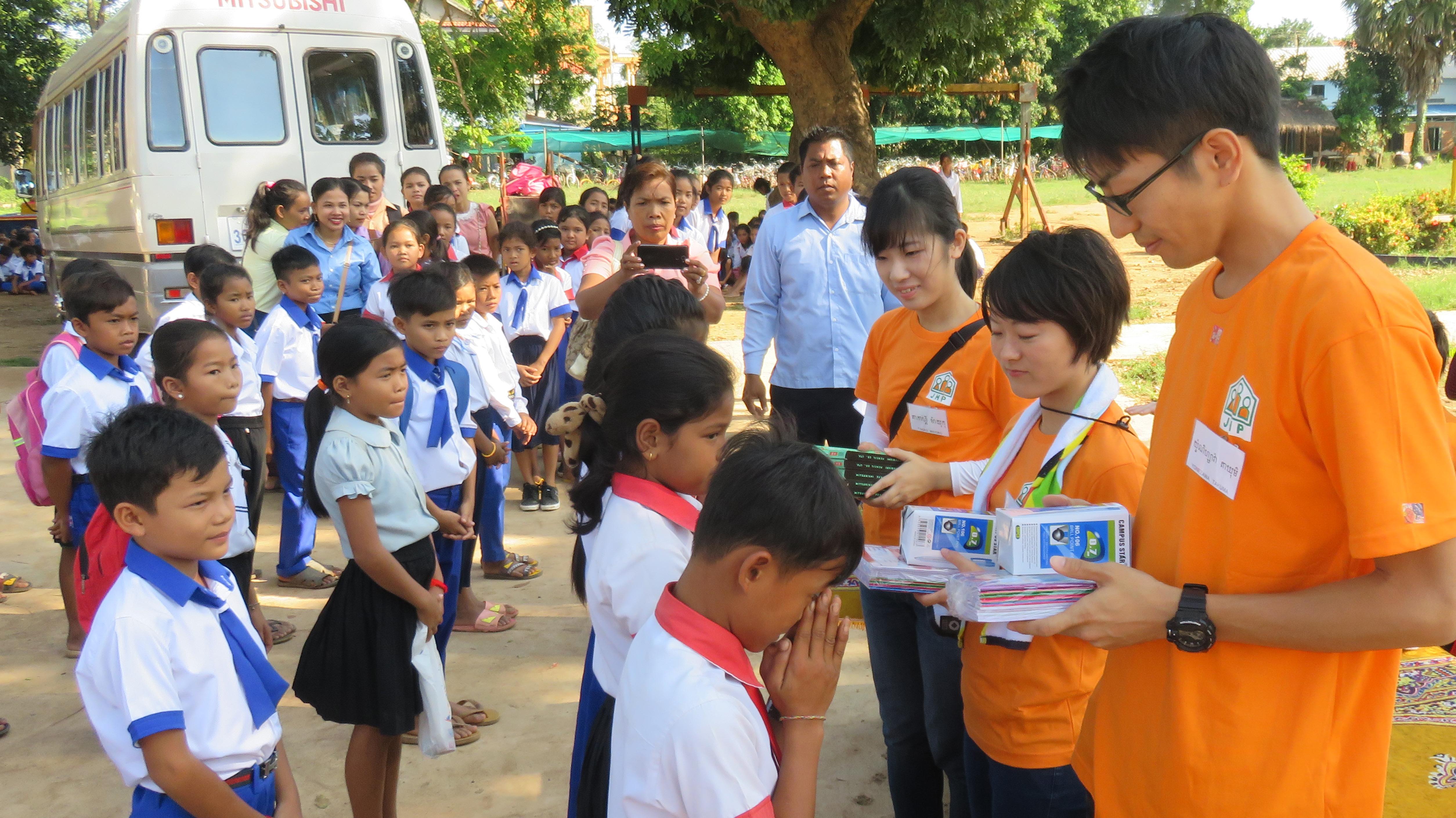 カンボジアヤヨイ学校 活動報告10