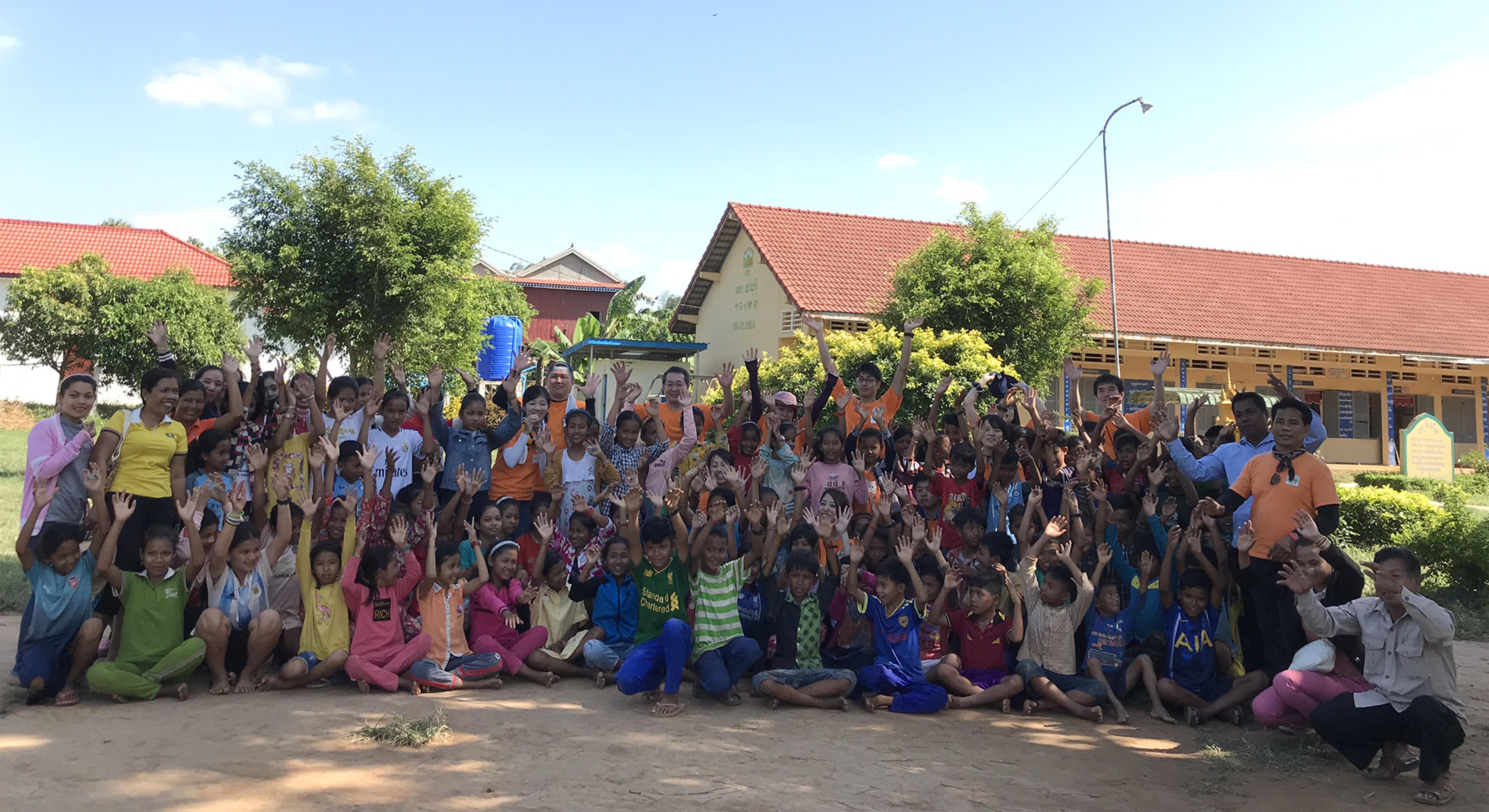 第3回 カンボジアヤヨイ学校支援活動