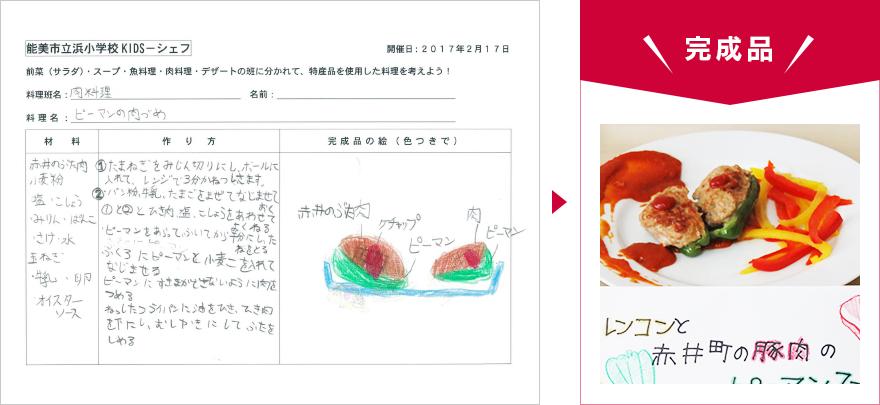 KIDS-シェフレポート 今回調理したメニュー04