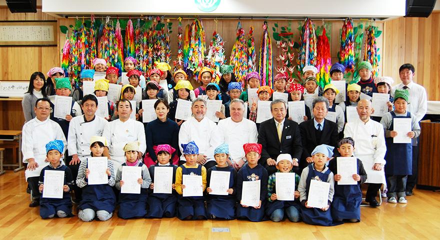 KIDS-シェフレポート 宮城県気仙沼市立鹿折小学校