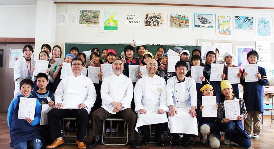 KIDS-シェフレポート 静岡県静岡市立清水入江小学校