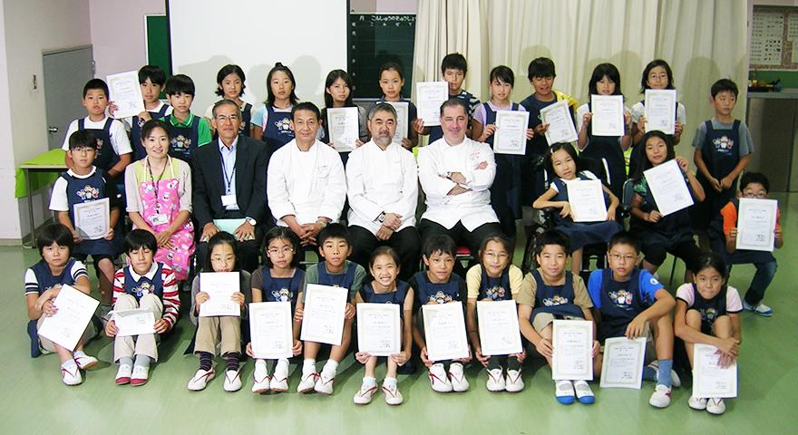 KIDS-シェフレポート 東京都目黒区立宮前小学校